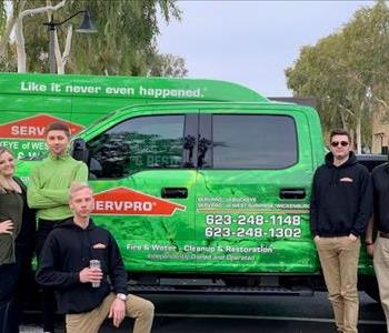 SERVPRO of West Surprise Team Photo